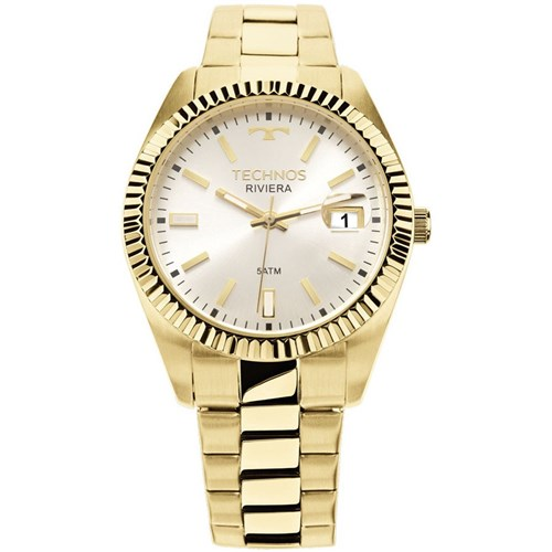 Relógio Technos 2115Ktr/4K (Aço Inox, Dourado, Analógico)