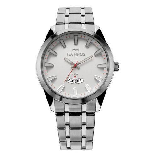 Relógio Technos 2115KZB/1B Pulseira de Aço Prata