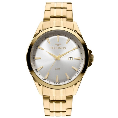 Relógio Technos 2115Las/4K (Aço Inox, Dourado, Analógico)