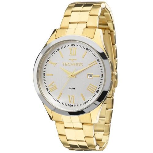 Relógio Technos 2115Mgm/4K (Aço Inox, Dourado, Analógico)