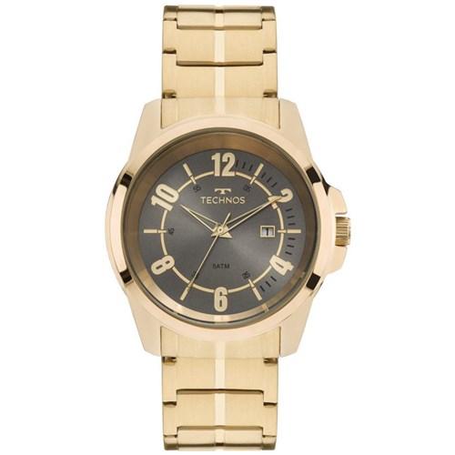 Relógio Technos 2115Mmv/4K (Aço Inox, Dourado, Analógico)