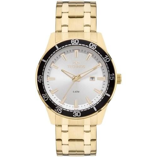 Relógio Technos 2115Mmy/4K (Aço Inox, Dourado, Analógico)
