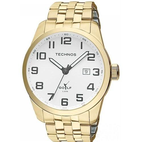 Relógio Technos 2315Yl/4K (Aço Inox, Dourado, Analógico)