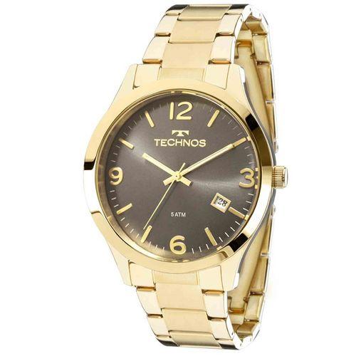 Relógio Technos Dourado Feminino Elegance Dress Analógico 2315ACD/4C