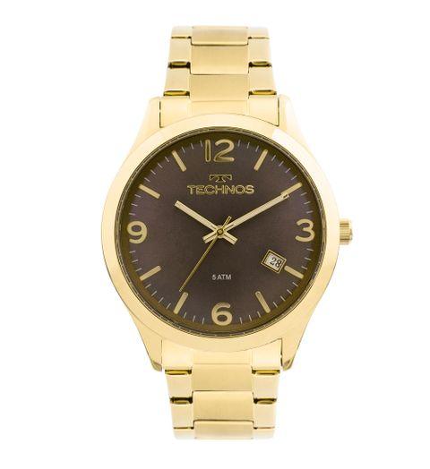 Tudo sobre 'Relógio Technos Dress 2315ACD/4C Dourado'