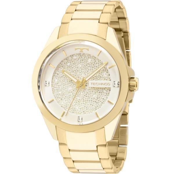 Relógio Technos Elegance Swarovski Feminino 203AAA/4K