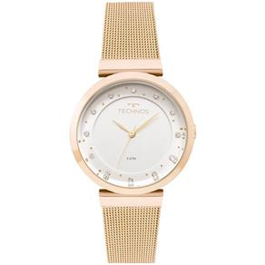 Relógio Technos Feminino Dourado 2035mmx/4x