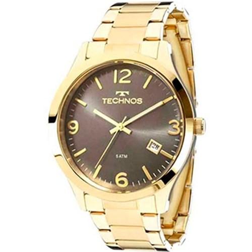 Relógio Technos Feminino Dourado 2315Acd/4C