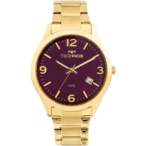 Relógio Technos Feminino Dourado 2315Acd/4N