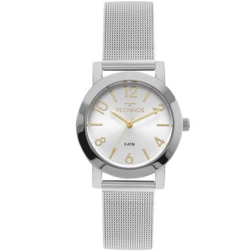 Relógio Technos Feminino Elegance Boutique Prata - 2035mlq/1k