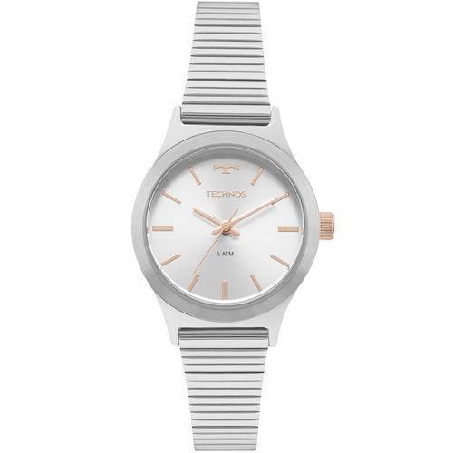 Relógio Technos Feminino Elegance Boutique Prata - 2035mmh/1k