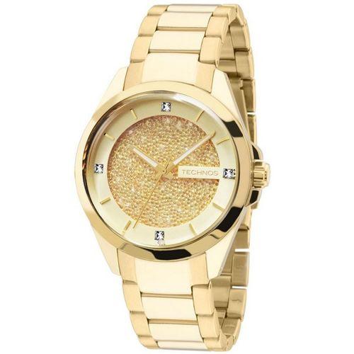 Relógio Technos Feminino Elegance Crystal 203aaa/4x