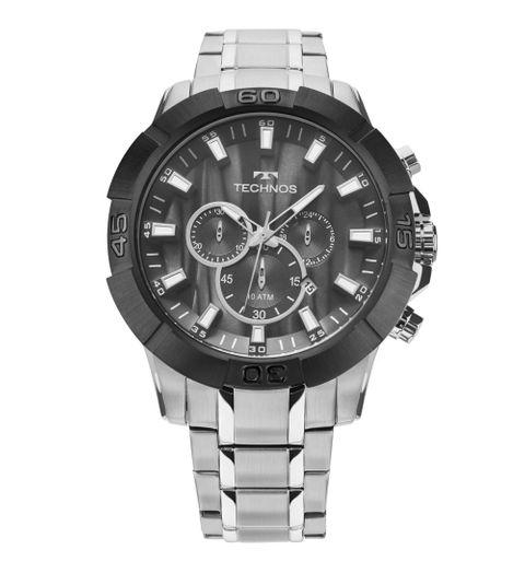 Relógio Technos Legacy Masculino Prata JS26AD/1P JS26AD/1P