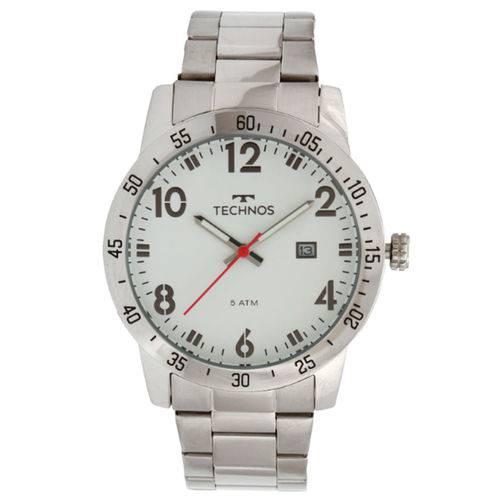 Relógio Technos Masculino 2115mms/1b Prata