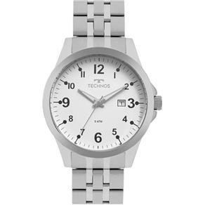 Relógio Technos Masculino Classic 2115mqc/1b Aço Analogico