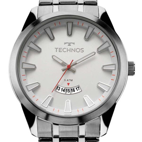 Relógio Technos Prateado Masculino Racer 2115KZB/1B