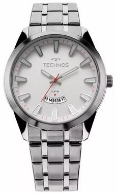 Relógio Technos Racer Masculino 2115kzb/1b Prata