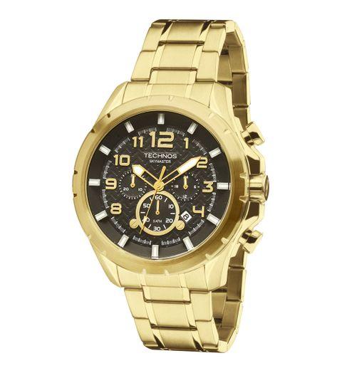 Tudo sobre 'Relógio Technos Skymaster JS25BF/4P Dourado'