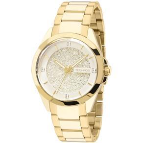 Relógio Technos Swarovski Elements Elegance Analógico Feminino 203AAA/4K