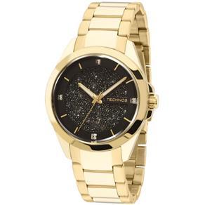 Relógio Technos Swarovski Elements Elegance Analógico Feminino 203AAA/4P