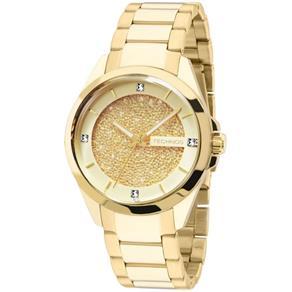 Relógio Technos Swarovski Elements Elegance Analógico Feminino 203AAA/4X