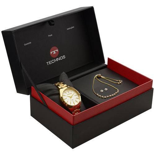 Tudo sobre 'Relógio Technos Trend 2039bk/k5b Dourado'