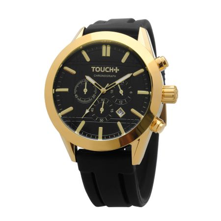 Tudo sobre 'Relógio Touch Casual Preto - TA0100/8P'