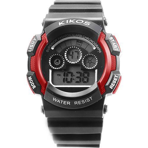 Tudo sobre 'Relógio Unissex Kikos Digital RK01 Vermelho'
