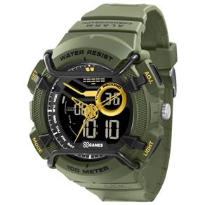 Tudo sobre 'Relógio X-games Masculino Anadigi Xmppa179 Pxex Militar'
