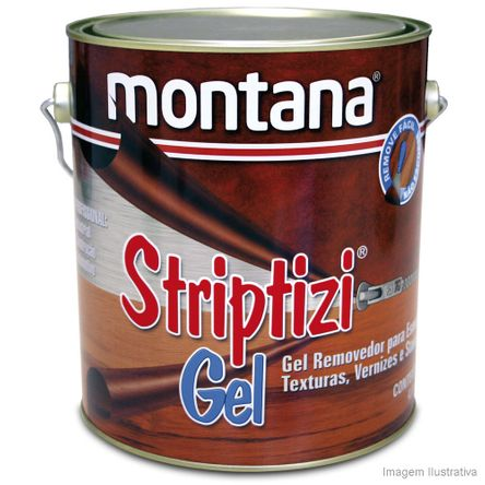 Tudo sobre 'Removedor de Tintas Stripitizi 3,6 Litros Montana'