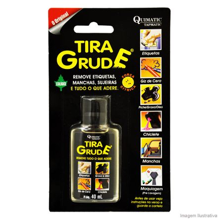 Removedor Tira Grude 40ml Tapmatic
