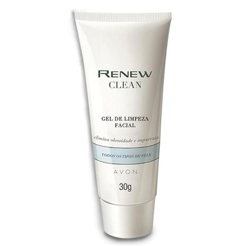 Renew Clean Sabonete Gel de Limpeza Facial - 30g