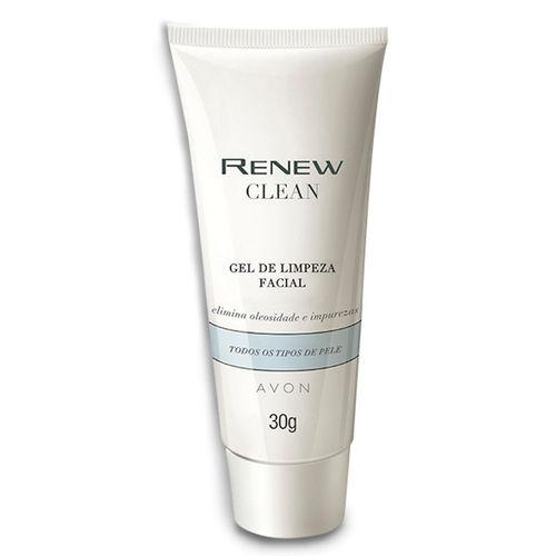 Renew Clean Sabonete Gel de Limpeza Facial - 30ml