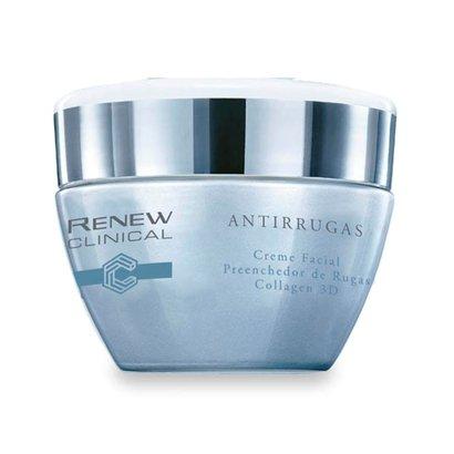 Tudo sobre 'Renew Clinical Antirrugas Creme Facial Preenchedor de Rugas Collagen 3D 30g'