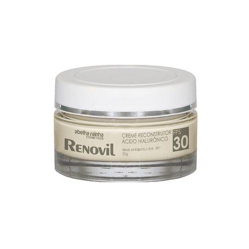 Renovil Creme Reconstrutor Acido Hialuronico 65+ Fps30 Abelha Rainha 50g