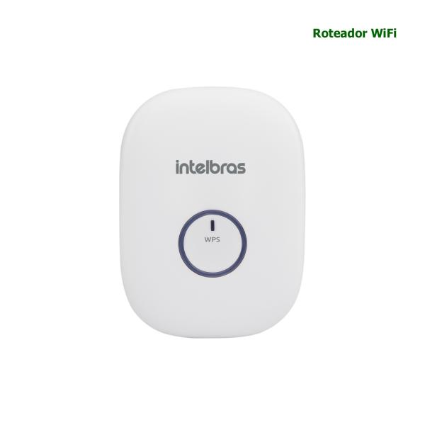 REPETIDOR WIRELESS INTELBRAS 300 Mbps IWE 3000N