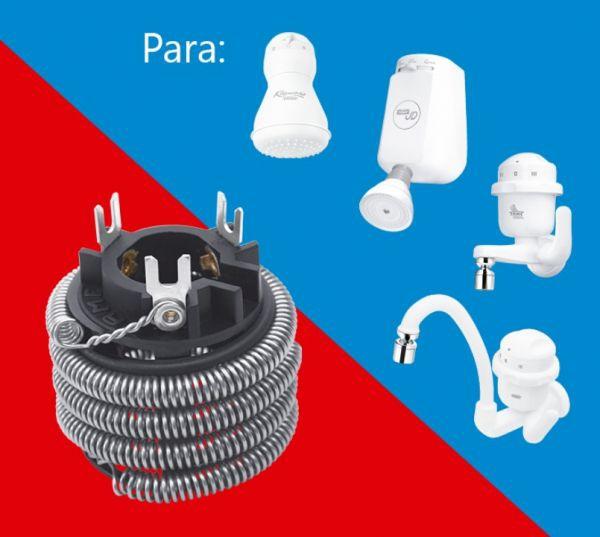 Resistência 220V 5400W P/ Kibanho Ducha e Torneiras 3 Temperaturas 0433 - FAME