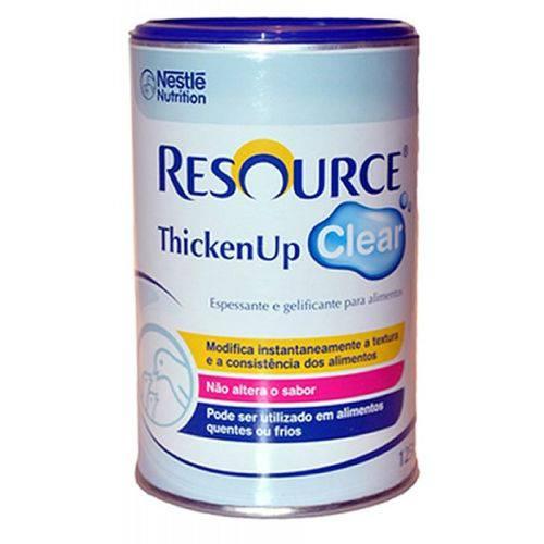 Tudo sobre 'Resource Thickenup Clear 125 Gramas Nestlé'
