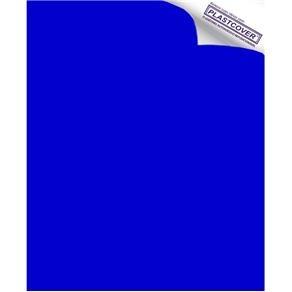 Revestimento Adesivo Azul 45cm X 10m