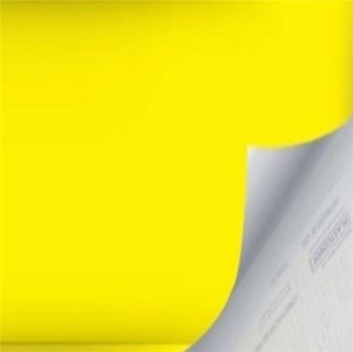 Revestimento Auto Adesivo Básico Amarelo Rolo com 2m