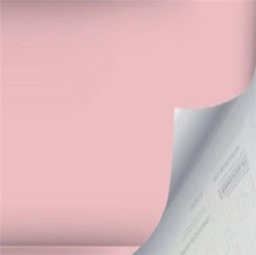 Revestimento Auto Adesivo Básico Rosa Rolo com 2m