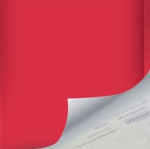 Revestimento Auto Adesivo Básico Vermelho Rolo com 2m