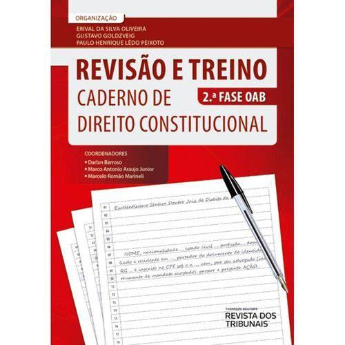 Tudo sobre 'Revisao e Treino - Caderno de Direito Constitucional - Rt'