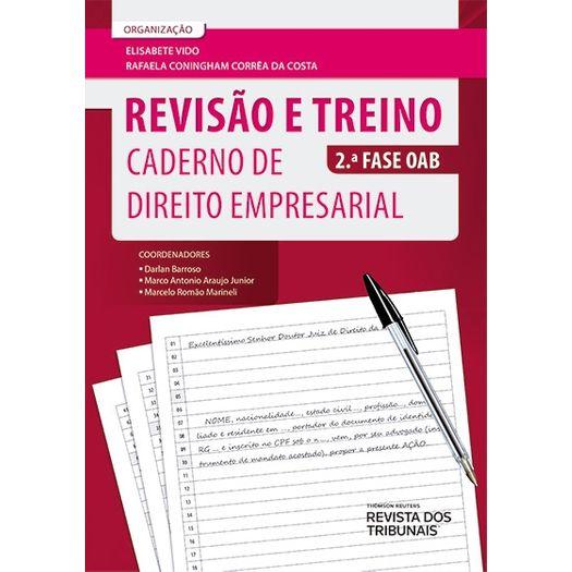 Tudo sobre 'Revisao e Treino - Caderno de Direito Empresarial - Rt'