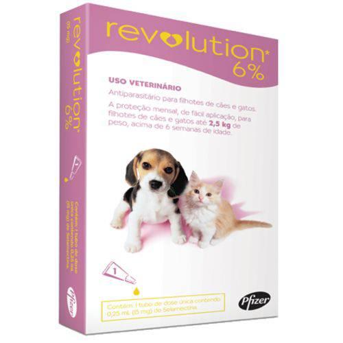 Tudo sobre 'Revolution Filhotes de Cães e Gatos Até 2,5kg - 1 Unidade'