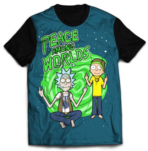 Rick And Morty - Modelo 5 (PP)