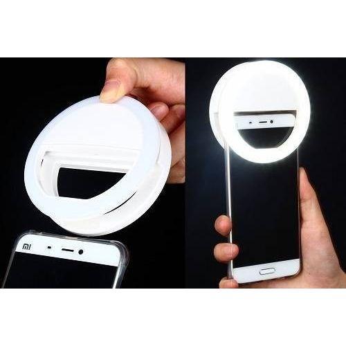 Tudo sobre 'Ring Light para Smartphone - Luz de Selfie Anel - Greika'