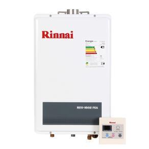 Rinnai Aquecedor Digital Gás 22,5L REU1602FEA Rinnai 22,5L GLP