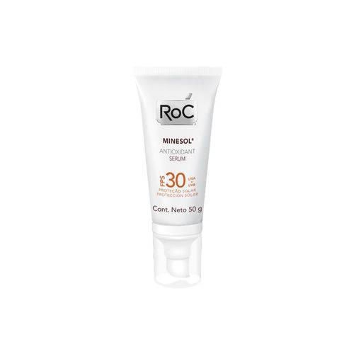 Tudo sobre 'Roc Minesol Antioxidante Serum FPS30 50g'
