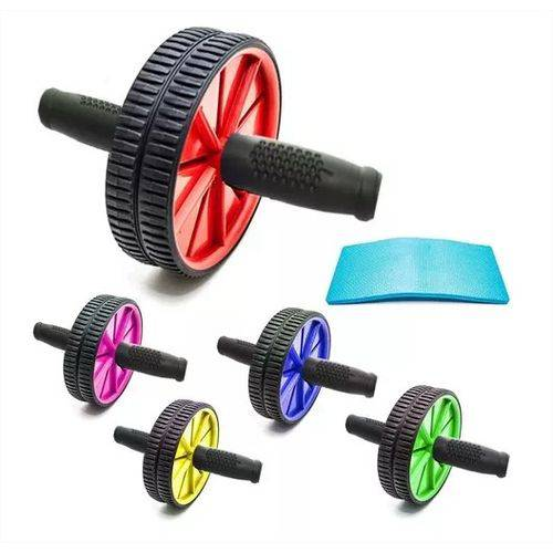 Tudo sobre 'Roda Fitness para Abdominal Lombar Exercícios Academia'